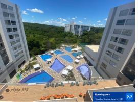 Flat Park Veredas com Vista Piscina e acesso ao Rio Quente!, apartment in Rio Quente