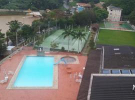 FLAT CAVALINHO BRANCO, hotel em Águas de Lindoia