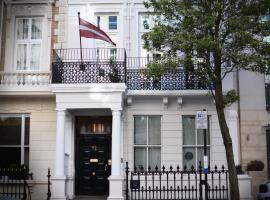 72QT, אירוח ביתי בלונדון
