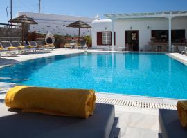 DOMNA HOTEL, hotel in Mýkonos City