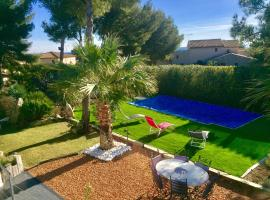 B&B AND SPA L'ESCALE COTE BLEUE, spa hotel in Sausset-les-Pins