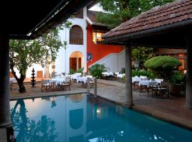 Malabar House, accessible hotel in Cochin