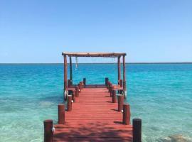 El Roble Nature Hotel & Lagoon, hotel in Bacalar