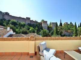 Central Albayzin, Parking , Terraza & Vistas, villa en Granada