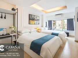 Cabana Hotel SaiGon, hotel in District 1, Ho Chi Minh City