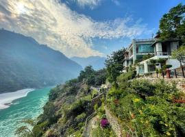 Raga on the Ganges, hotel in Rishīkesh