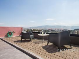 20m² homm Magical loft with Athens view, hotel in Piraeus