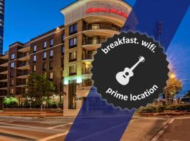 Hampton Inn & Suites Nashville Downtown, hotel in Downtown Nashville, Nashville