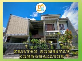 Krisyan Homestay, pet-friendly hotel in Yogyakarta