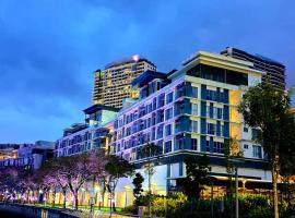 Trinidad Suites Puteri Harbour,依斯干達公主城新山公主港附近的飯店