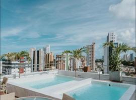 Manaíra Apart Hotel, hotel em João Pessoa