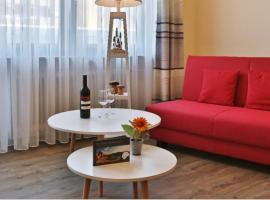 Hotel am Hirschpark, отель в городе Энцклёстерле