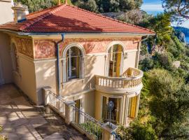 Nice Booking - Villa La pescade vue mer, holiday home in Nice