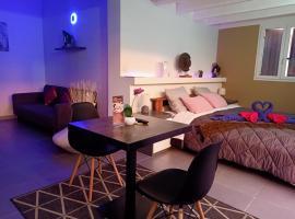 Chambre d'hote,Fitness & Billard Gratuit & SPA Mas la Farelle, hotel with jacuzzis in Nîmes