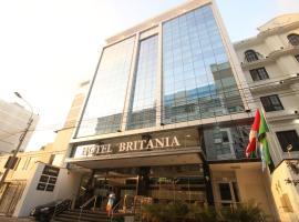 Hotel Britania Crystal Collection, hotel in Miraflores, Lima