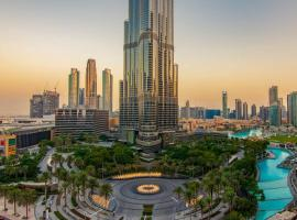 FIRST CLASS 3BR with full BURJ KHALIFA VIEW, apartma v Dubaju