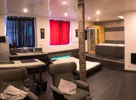 Appartement luxury spa, hôtel à Saint-Étienne