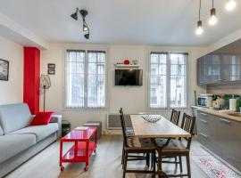 Large and elegant studio in Deauville centre 2 min to the Casino - Welkeys, apartment in Deauville