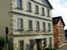 Staffelsteiner Hof, отель в городе Бад-Штаффельштайн