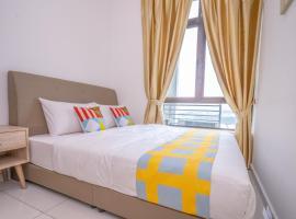 OYO 90183 D' Summit Residence 2bhk, hotel near Senai International Airport - JHB, Kempas
