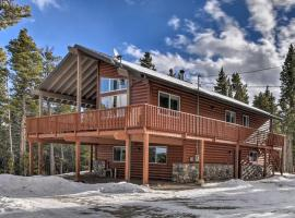 16-Acre Modern Fairplay Cabin with Mtn Views!, hotel with parking in Fairplay