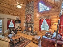 Outdoor Adventure - Charming Cabin with Hot Tub, Ferienunterkunft in Sautee Nacoochee