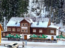 Hotel Hvezda, отель в городе Пец-под-Снежкой