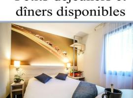 Hôtel Inn Design - Restaurant L'Escale, hôtel à Rochefort