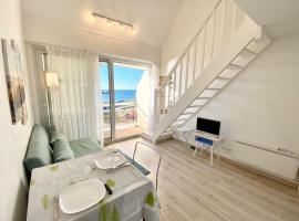 Joli appartement Top Cosy Vue mer imprenable 180, hôtel à Ploemeur près de: Golf de Plœmeur Océan