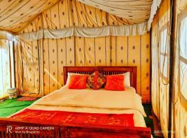 Aster Desert Camp, luxury tent in Jaisalmer