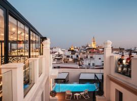 Hotel Unuk, отель в городе Севилья