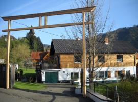 """Apartments Am Kirchkogel """"Ländliche Entspannung im Herzen der Steiermark"""", hotel near Baerenschuetzklamm, Pernegg an der Mur"""