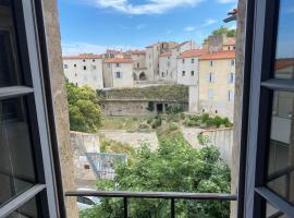 Hôtel particulier vue anciennes arènes romaines, apartment in Béziers