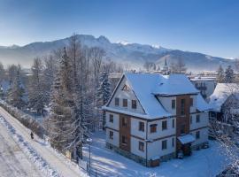 Willa Jarosta, hotel with jacuzzis in Zakopane