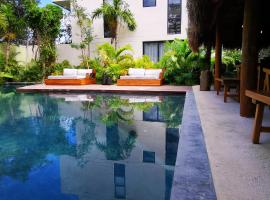 2 Bedroom Penthouse with Plunge Pool at Aldea Zama in Tulum, apartment in Tulum