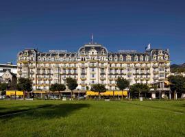 Fairmont Le Montreux Palace, hôtel à Montreux