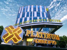 Platinum Adisucipto Hotel & Conference Center, отель в Джокьякарте