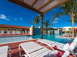 Aruba Condo The Pearl - At Eagle Beach - minute walk!, appartement in Palm-Eagle Beach