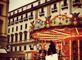 Florencehostels Anamaria, bed & breakfast Firenzessä