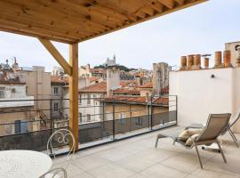 Les Appartements Maison Montgrand-Vieux Port, serviced apartment in Marseille