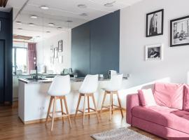 First class studio APT, hotel in Moscow