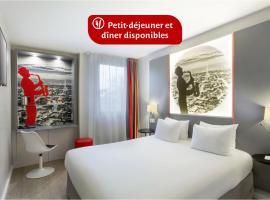 Best Western Paris Saint Quentin, hotel near Isabella Golf Course, Montigny-le-Bretonneux