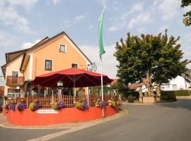 Gasthof Die Rose, отель в городе Лауда-Кёнигсхофен