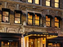 The Marlton Hotel, hotel in Fifth Avenue, New York