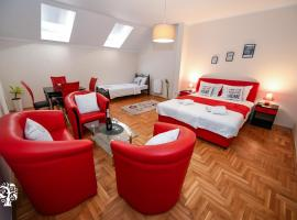 Agape Villa Apartments, hotel in Novi Sad