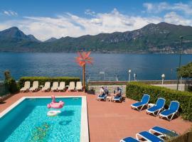 Hotel Caribe, hotell i Brenzone sul Garda