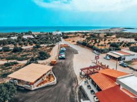 Elafonisi Rooms For Rent, hotel in Bendevís