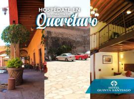 Hotel Quinta Santiago, hotel en Querétaro