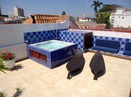Jadi Hotel Los Puntales, hotel en Cartagena de Indias