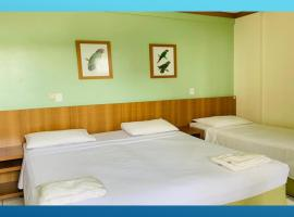Flat Golden Dolphin G Hotel Caldas Novas - Parque Aquático free, hotel em Caldas Novas